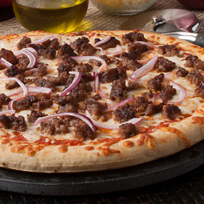 Image of Hamburger Pizza